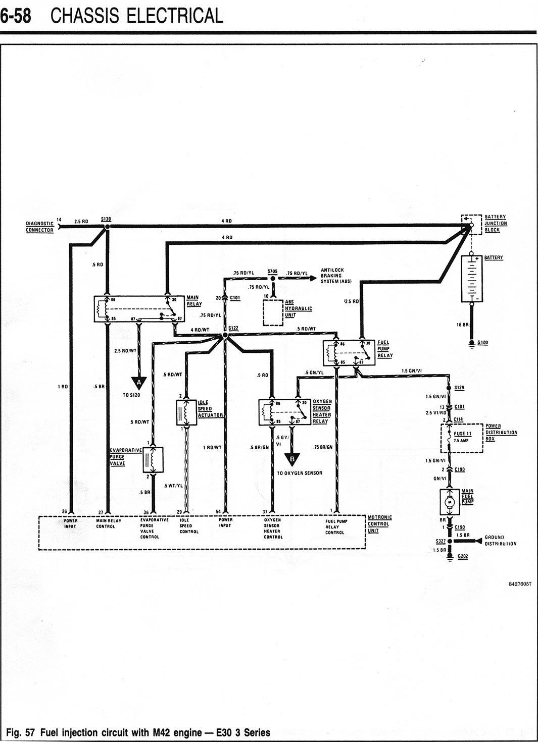 M starter fuel injection wiring diagrams